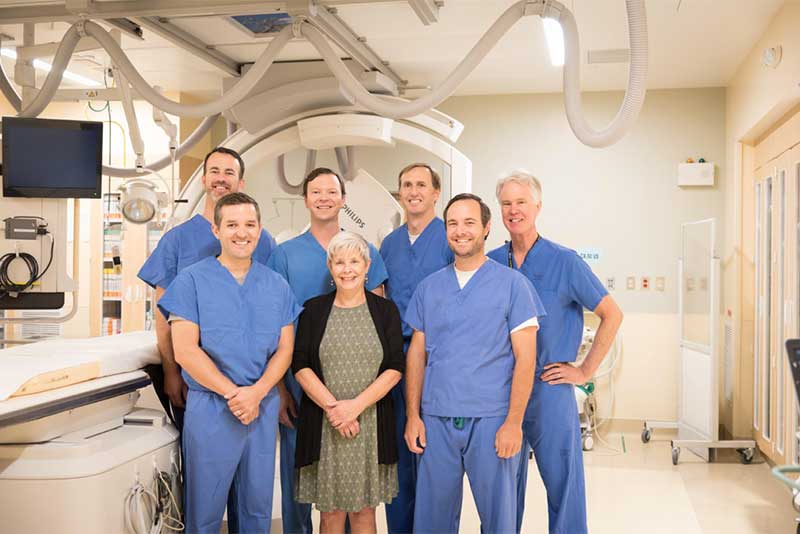 Radiology team in Bend