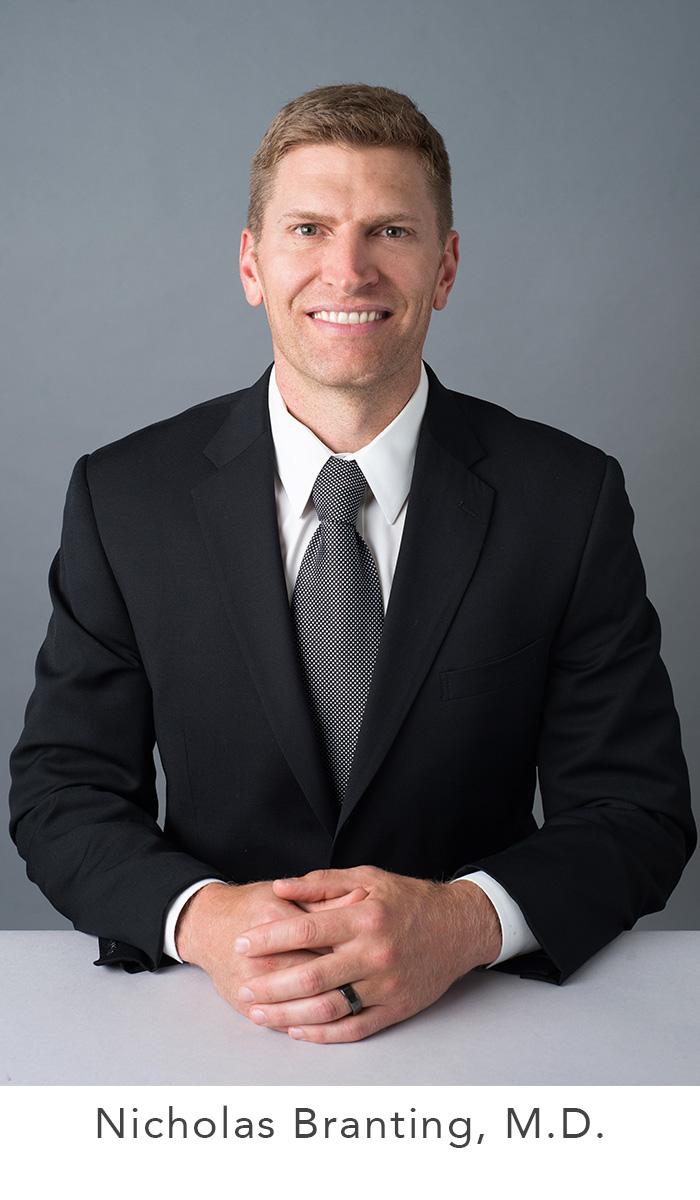 Nicholas Branting headshot